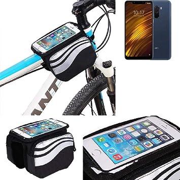 K-S-Trade Bolso Bolsa Funda Bicicleta para Xiaomi Pocophone F1 ...