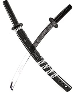 Nerd Clear 6 X Samurai Schwert 60 Cm Ninja Sabel Kostum Fasching