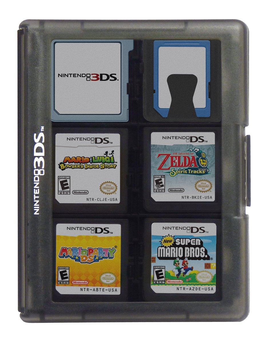 Nintendo 3ds Game Card Case 24 Spiele New Nintendo 3ds