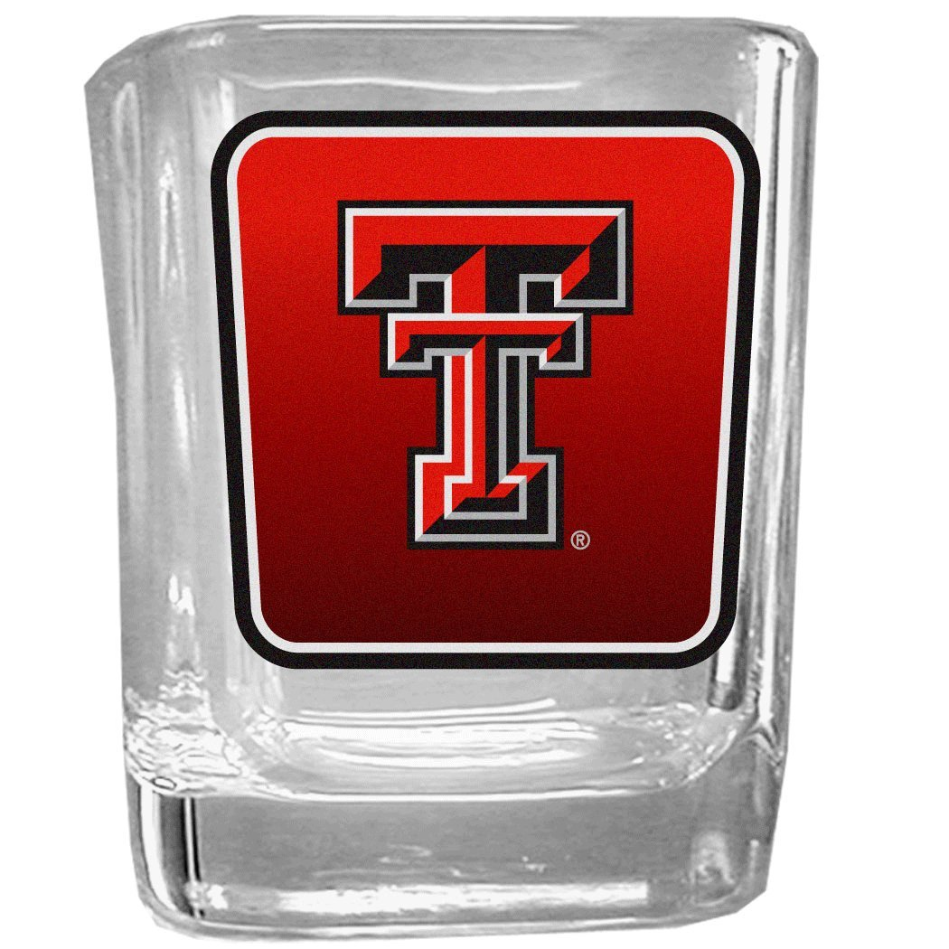 Siskiyou NCAA Unisex Square Glass Shot Glass