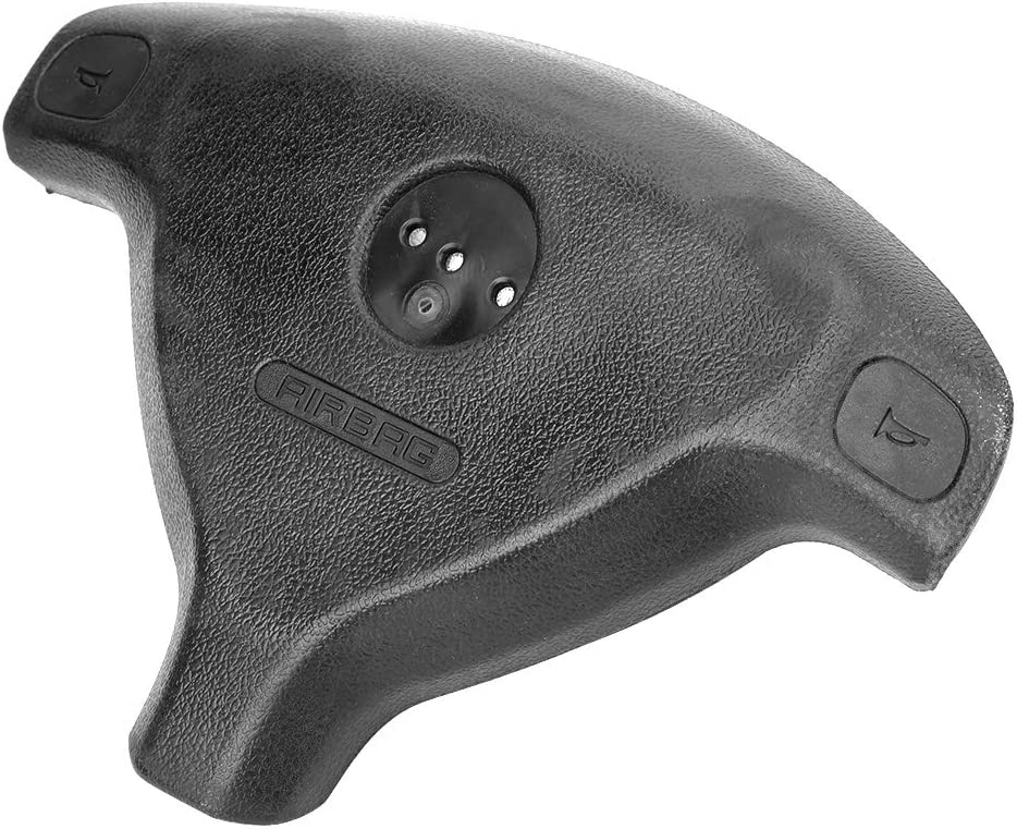 cubierta negra del volante del autom/óvil 90437285 Se adapta a Vauxhall Opel Astra G 1998-2004 Duokon Cubierta del volante