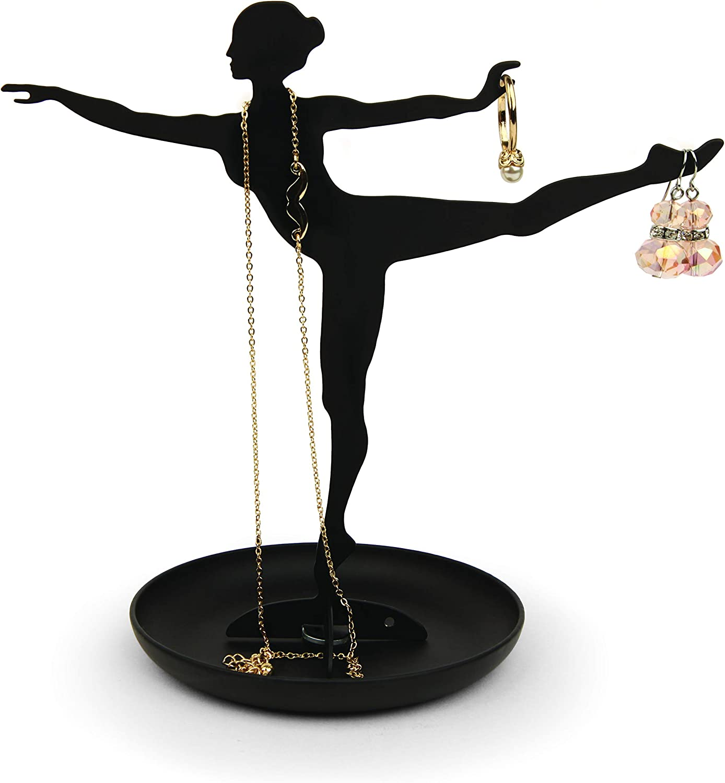 Kikkerland Ballerina Jewelry Stand
