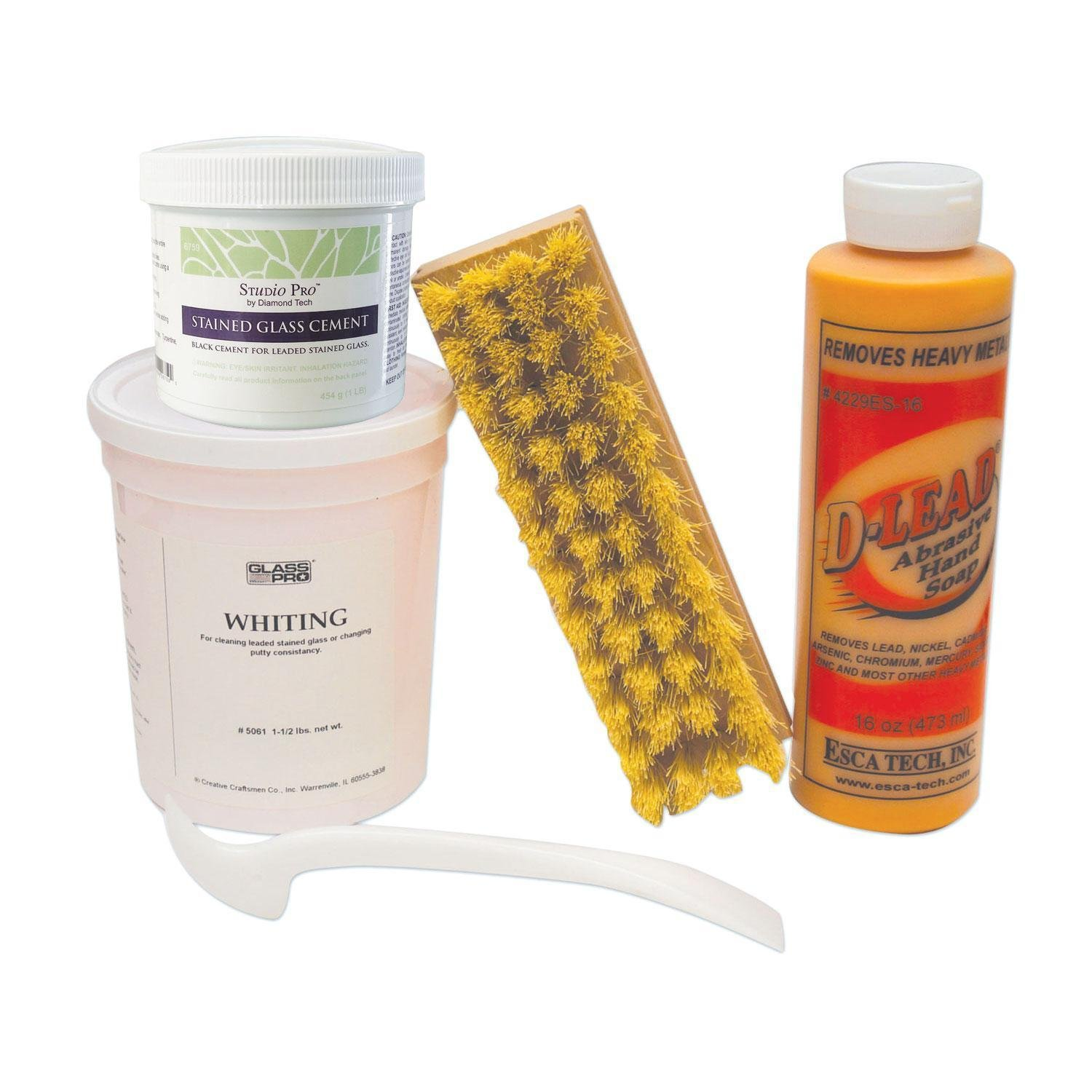 Lead Came Finishing Kit by Delphi Glass (Image #1)