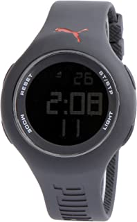 puma damen-armbanduhr digital loop