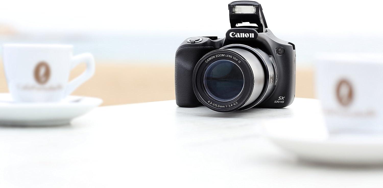 Canon PowerShot SX530 HS - Cámara compacta de 16 MP (Pantalla de 3 ...