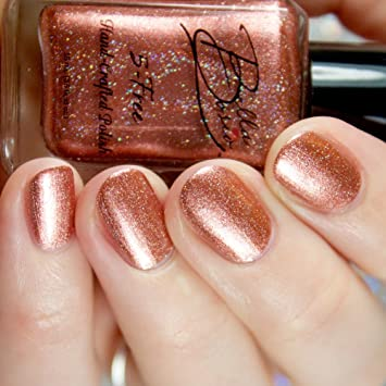 Amazon.com : Bella Bosio Long Lasting 5Free Hand Crafted Metallic ...