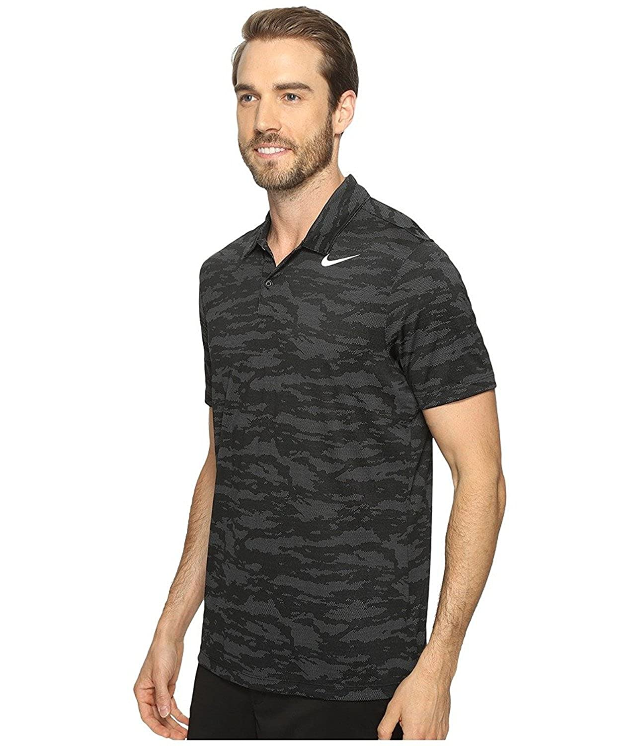 da53d235 Amazon.com: NIKE Golf Men's Icon Jacquard Polo: Sports & Outdoors