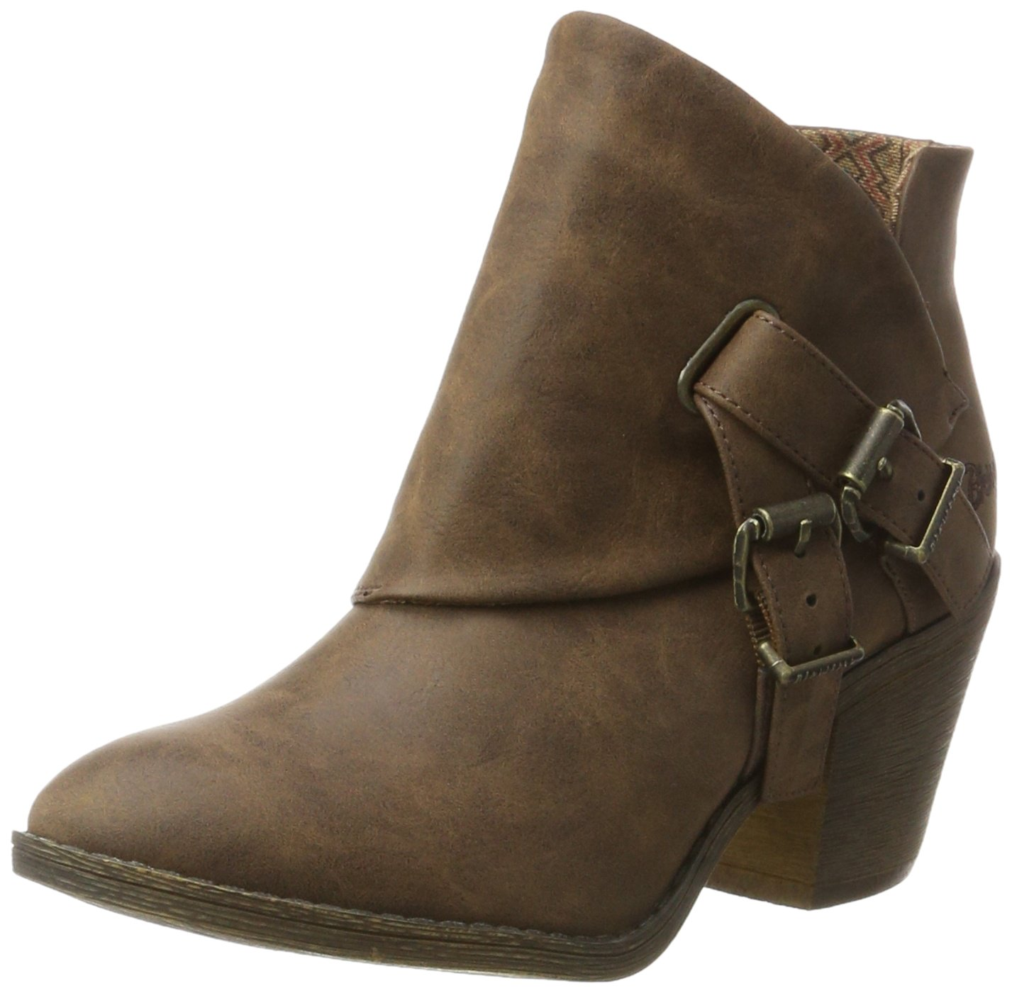 Blowfish Strum - Botas Estilo Motero Mujer35.5 EU|Marrón (Coffee)