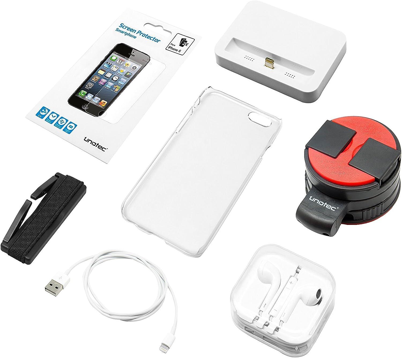 Unotec Pack Accesorios iPhone 6/6S: Amazon.es: Electrónica