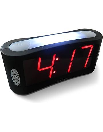 Travelwey LED Digital Alarm Clock - No Frills Simple Operation f9662bd2e