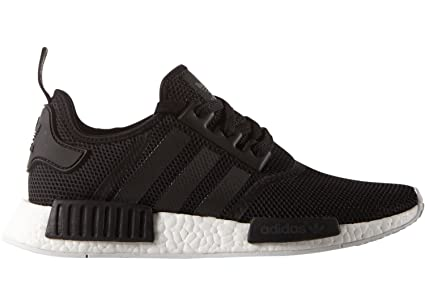 425df87b888151 adidas originals NMD R1 mens trainers sneakers shoes black white S79165 uk  8.5 us 9 eu