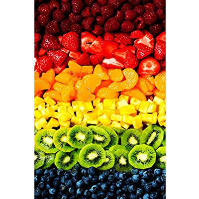 Chezaa Jigsaw Puzzles - 1000 Pieces Jigsaw Puzzles for Adults Kids - Fruit Color Signature Collection Games Sorting Vivid Gift: Arts, Crafts & Sewing