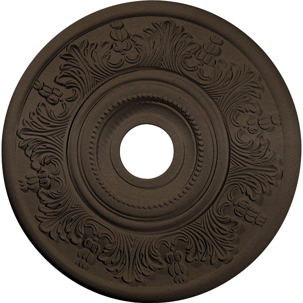 Ekena Millwork CM20VIBZS Vienna Ceiling Medallion, 20''OD x 3 1/2''ID x 1 1/2''P, Bronze