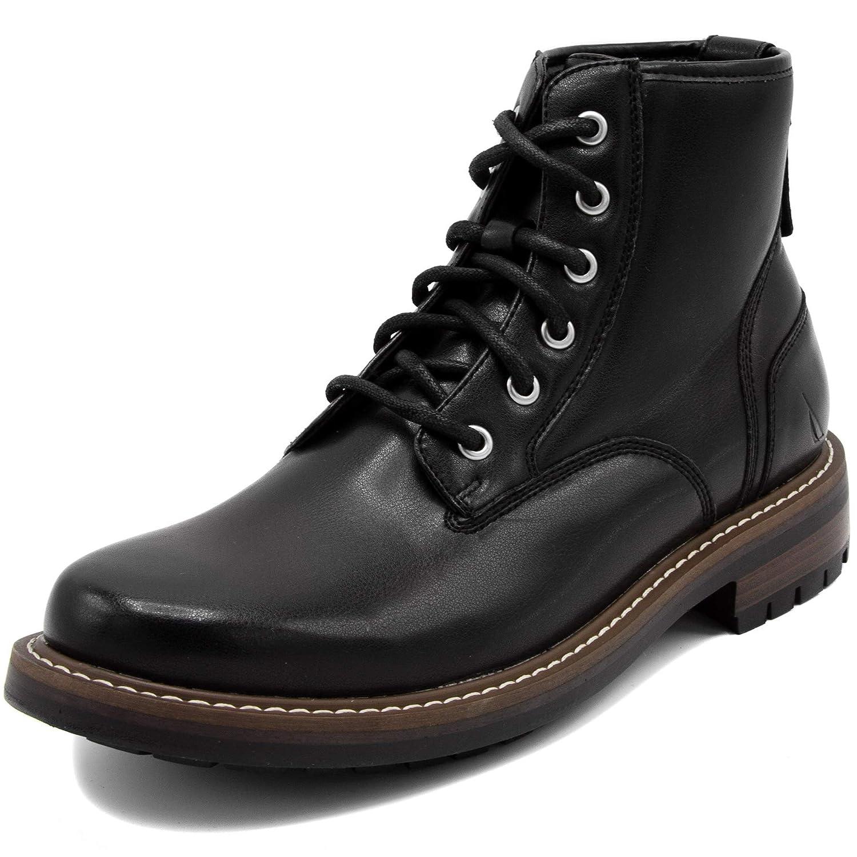 Nautica Mens Thurlow Lace Up Formal Dress Casual Fashion Boots Derby Combat Shoe