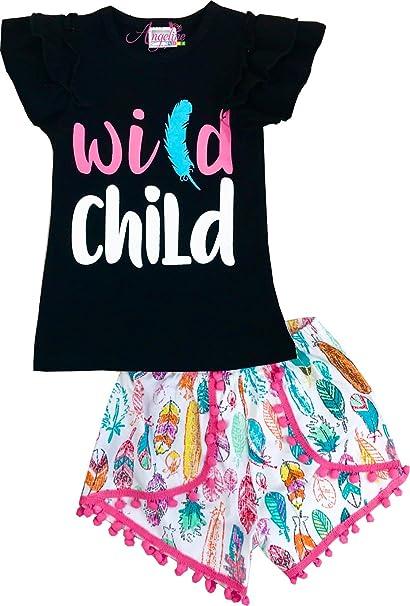 Amazon Com Angeline Boutique Clothing Baby Little Girls Summer