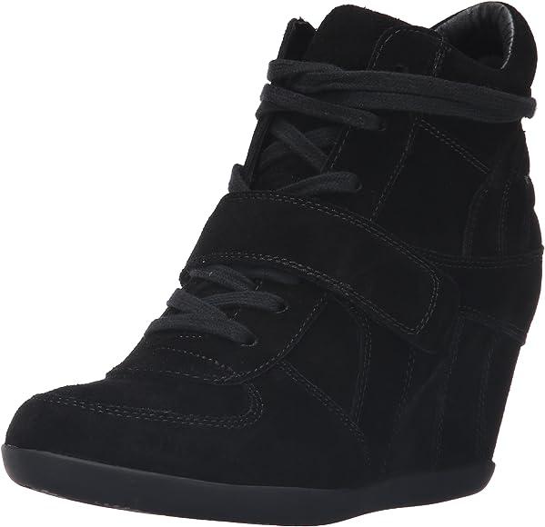 ASH Women's AS-Bowie Sneaker, Black