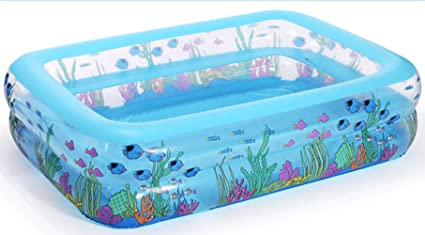 Amazon.com: Rectangular Inflatables Swimming Pools Ocean ...