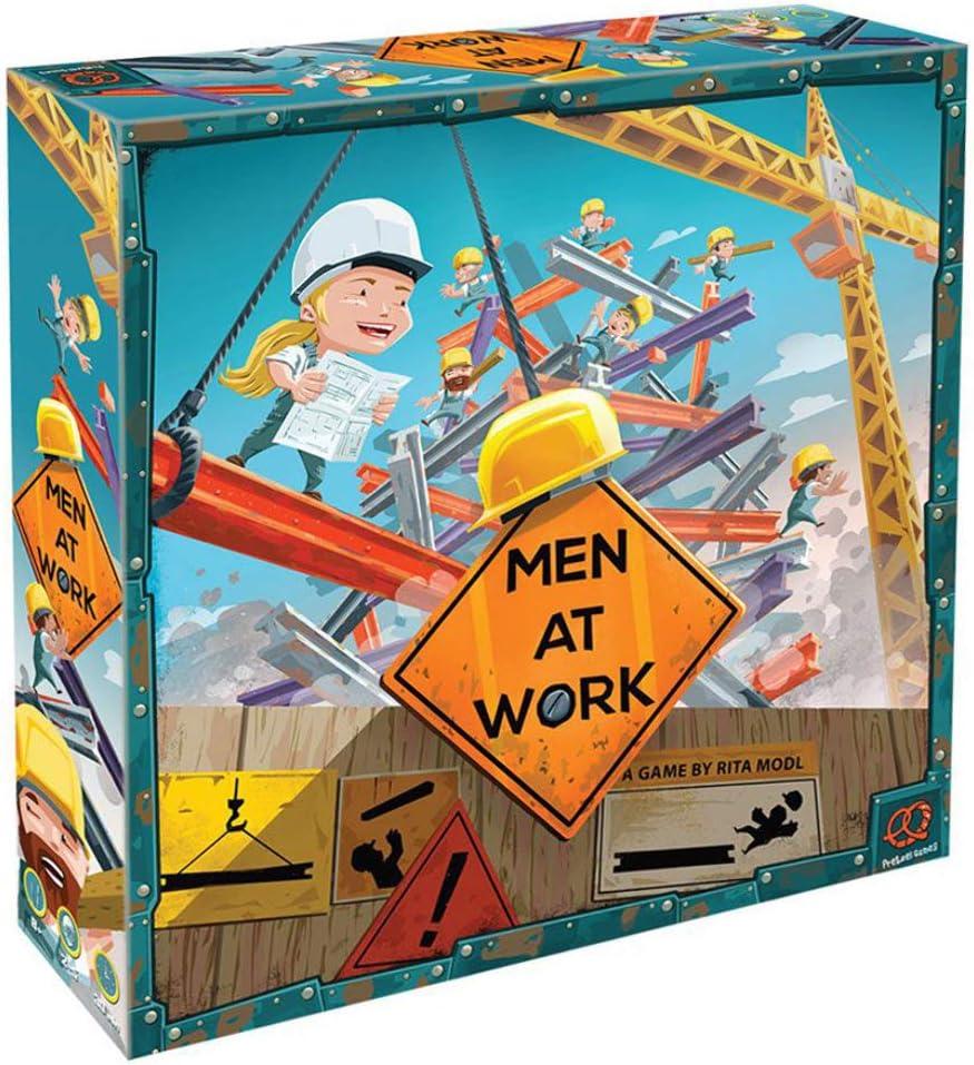 Pretzel Games PZG20050 Hombres en el Trabajo: Amazon.es: Juguetes y juegos