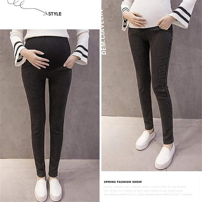 BABIFIS L-3XL Jeans de Maternidad para Mujeres Embarazadas ...