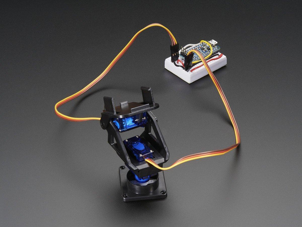 Adafruit Mini Pan-Tilt Kit - Assembled with Micro Servos