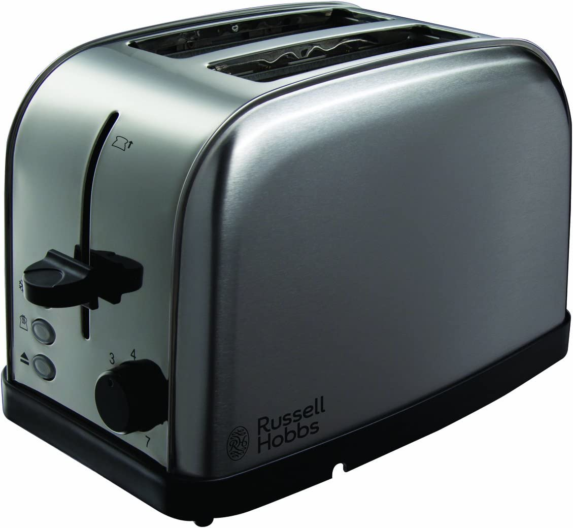 Russell Hobbs Futura 2-Slice Toaster 18780 - Stainless Steel Silver