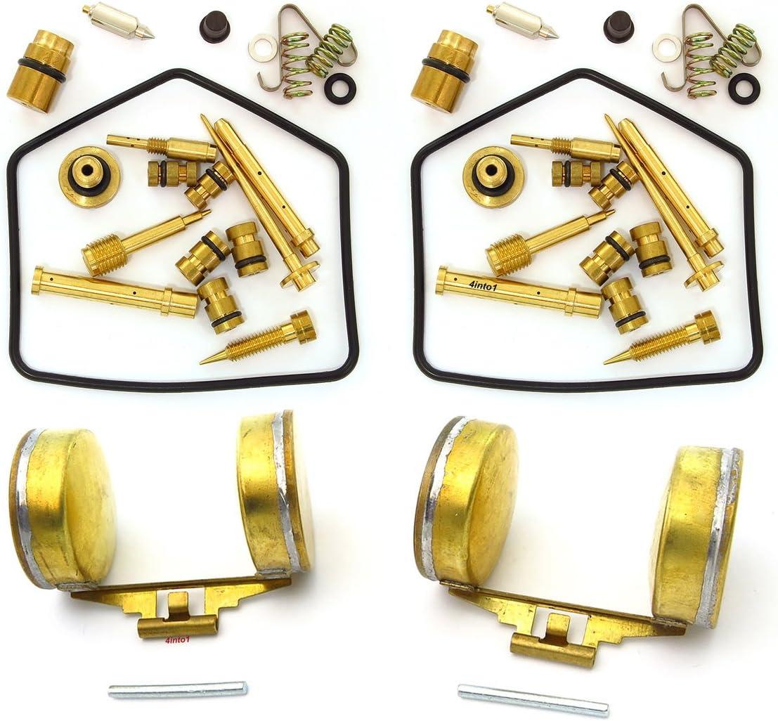 Honda CB350 CL350 Carb Carburetor Float Bowl Vacuum Cover Phillips Screw Kit NEW