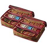 Srajanaa Multicolor Plastic Pack Of 2 Bangle Organiser Box