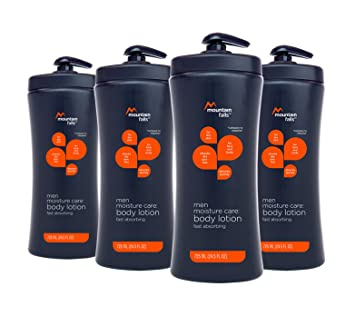 30cf6550d708 Mountain Falls Moisture Care: Men's Body Lotion, Fast Absorbing, Pump  Bottle, 24.5 Fluid Ounce...