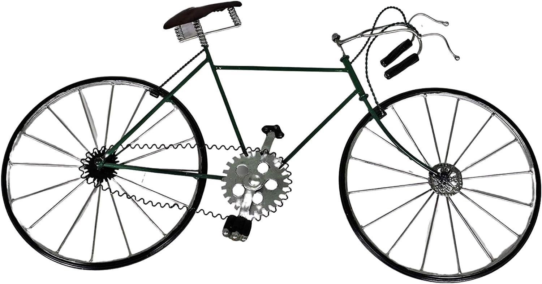 Decoración de la pared de la bicicleta de metal antiguo. Decoración para hombres, mujeres y niños enamorados del ciclismo y del Tour de Francia. Regalo de ciclismo para el cumpleaños, la jubilación, l