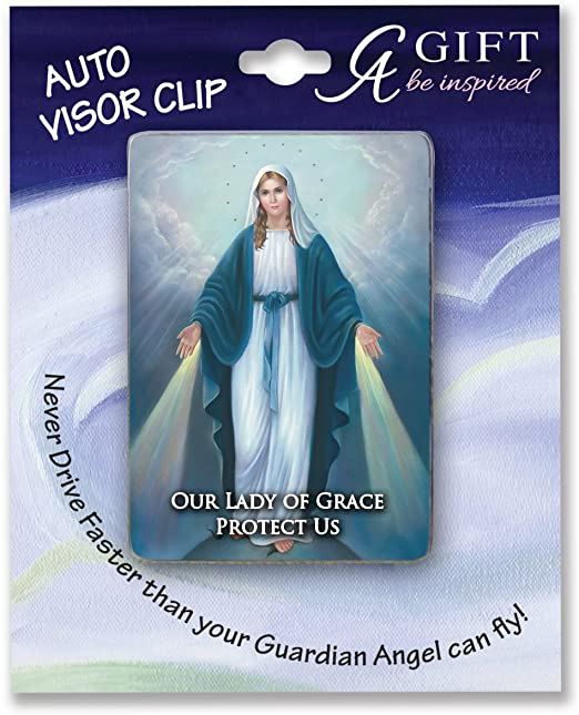 Cathedral Art Lady of Guadalupe Visor Clip
