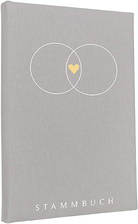 Hochzeitideal Serie Alan - Libro de Familia de Lino, Color Gris Claro: Amazon.es: Hogar