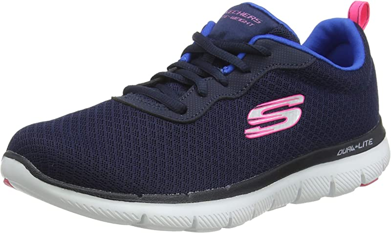 Skechers Flex Appeal 2.0 Newsmaker Sneakers Damen Marineblau