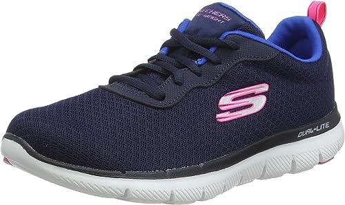 Paraíso De hecho Pegajoso  Skechers Women's 12775 Sneaker: Amazon.co.uk: Shoes & Bags