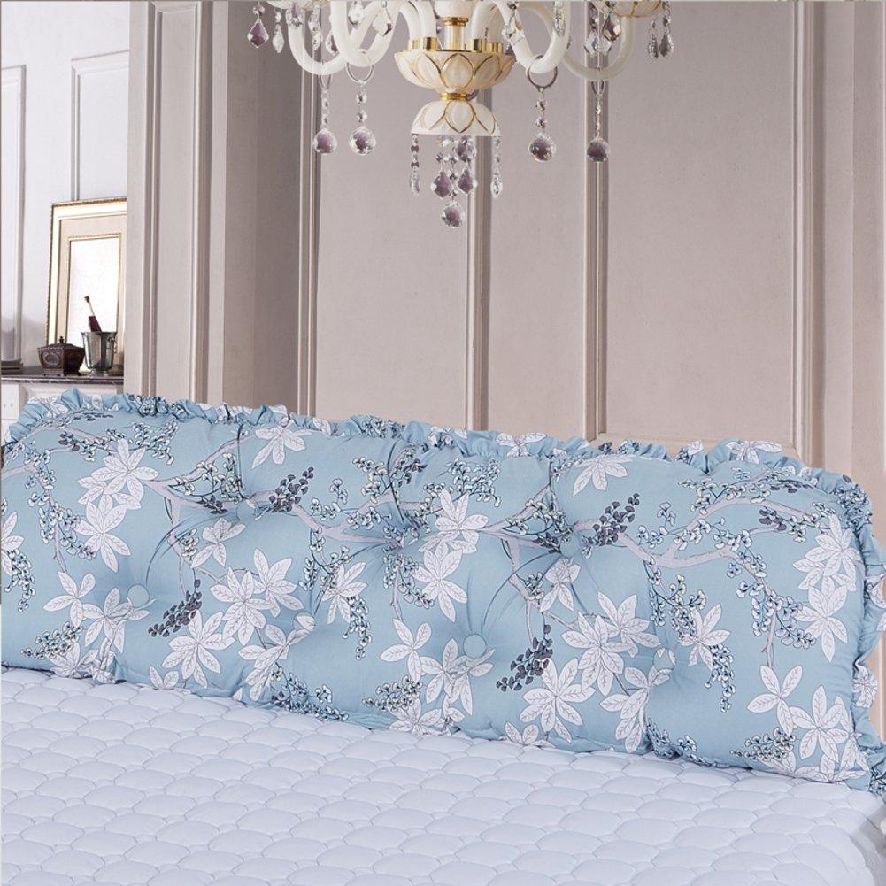 Bigクッションすべてのコットン製ベッドCouple with Double枕。枕ベッドソフトパックのクッション妊婦レディースBack cushion-g B077SLY87X