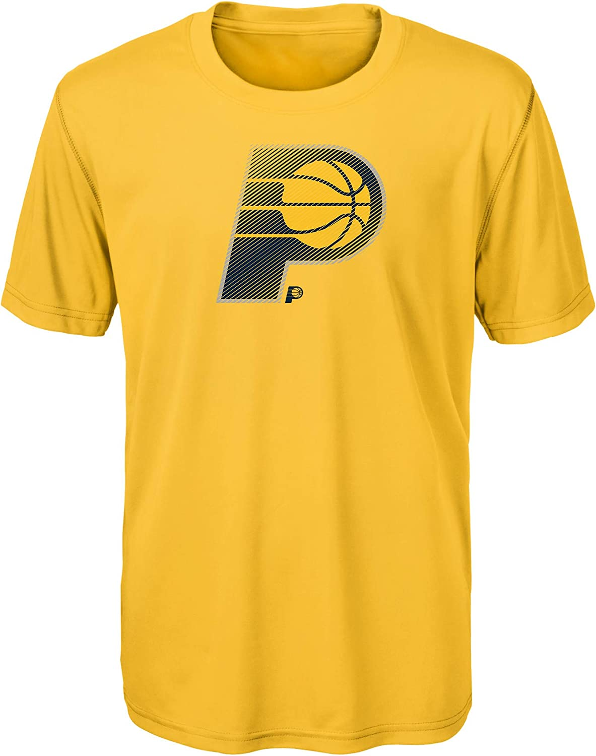 NBA Indiana Pacers Kids /& Youth Boys Motion Offense Alt Color Performance Tee 18 Youth X-Large Yellow