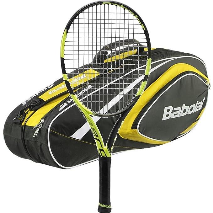 Amazon.com: Babolat Pure Aero raqueta de tenis – 2016 ...