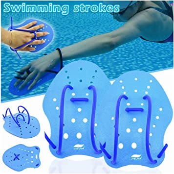 Sizes for Men Women Adult Children Aquatic Fitness Water Resistance Training TAGVO Aquatic Gloves for Helping Upper Body Resistance No Fading Webbed Swim Gloves Well Stitching