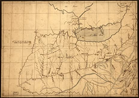 Amazon 1753 map of ohio river valley a traders of the ohio 1753 map of ohio river valley a traders of the ohio country before 1753 gumiabroncs Choice Image