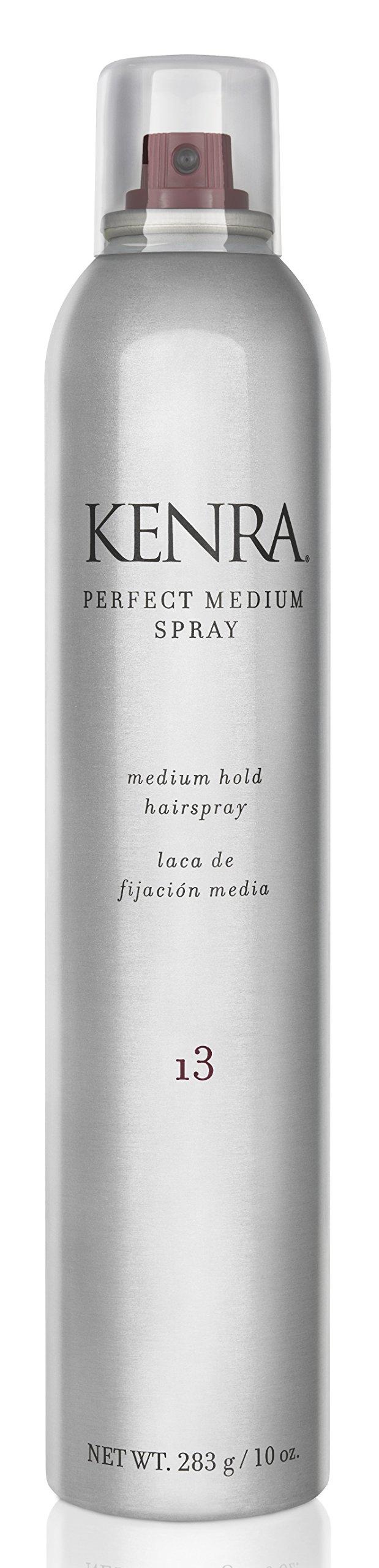 Kenra Perfect Medium Hair Spray #13, 55% VOC, 10-Ounce by Kenra