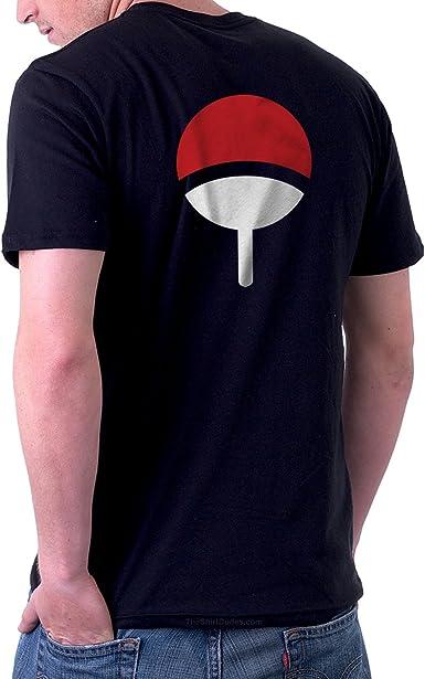 TheShirtDudes Uchiha Clan Adult T Shirt for Naruto Anime Cosplay