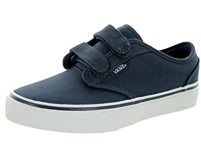f3f048fba96cce Vans Kids Youth Atwood V Canvas Navy Blue Skate Shoes (11.5 Kids)