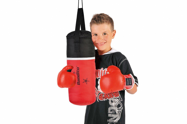 Szeneriebild Kinderboxhandschuhe