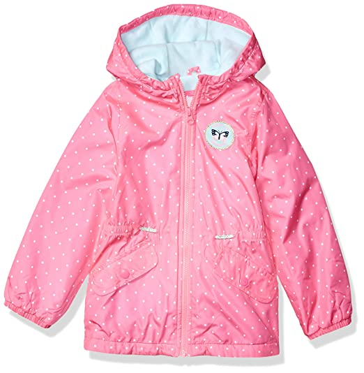 23fdc89d0 Carter's Baby Girls' Midweight Fleece Lined Anorak Jacket
