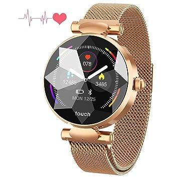 ZLI Health & Fitness Tracker Smartwatch con Monitor De Ciclo ...