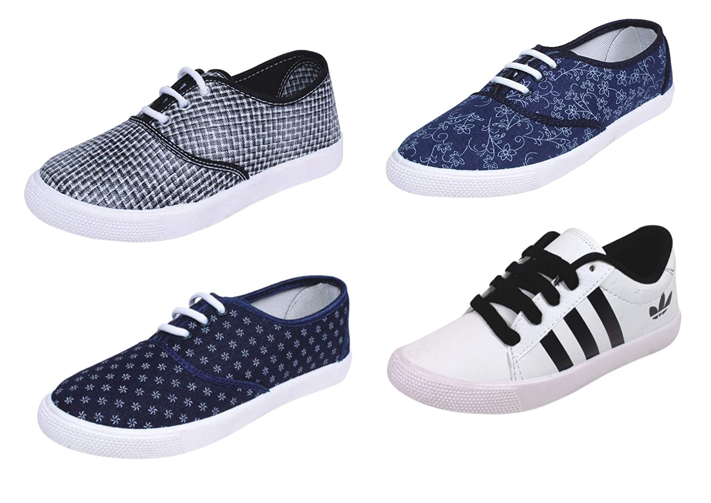 Buy SKYMATE Women's Sneaker (Set of 4