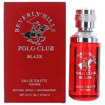 66f4489fec34 Amazon.com : Beverly Hills Polo Club Blaze by Beverly Hills Polo Club, 3.4  oz Eau De Toilette Spray for Men : Beauty