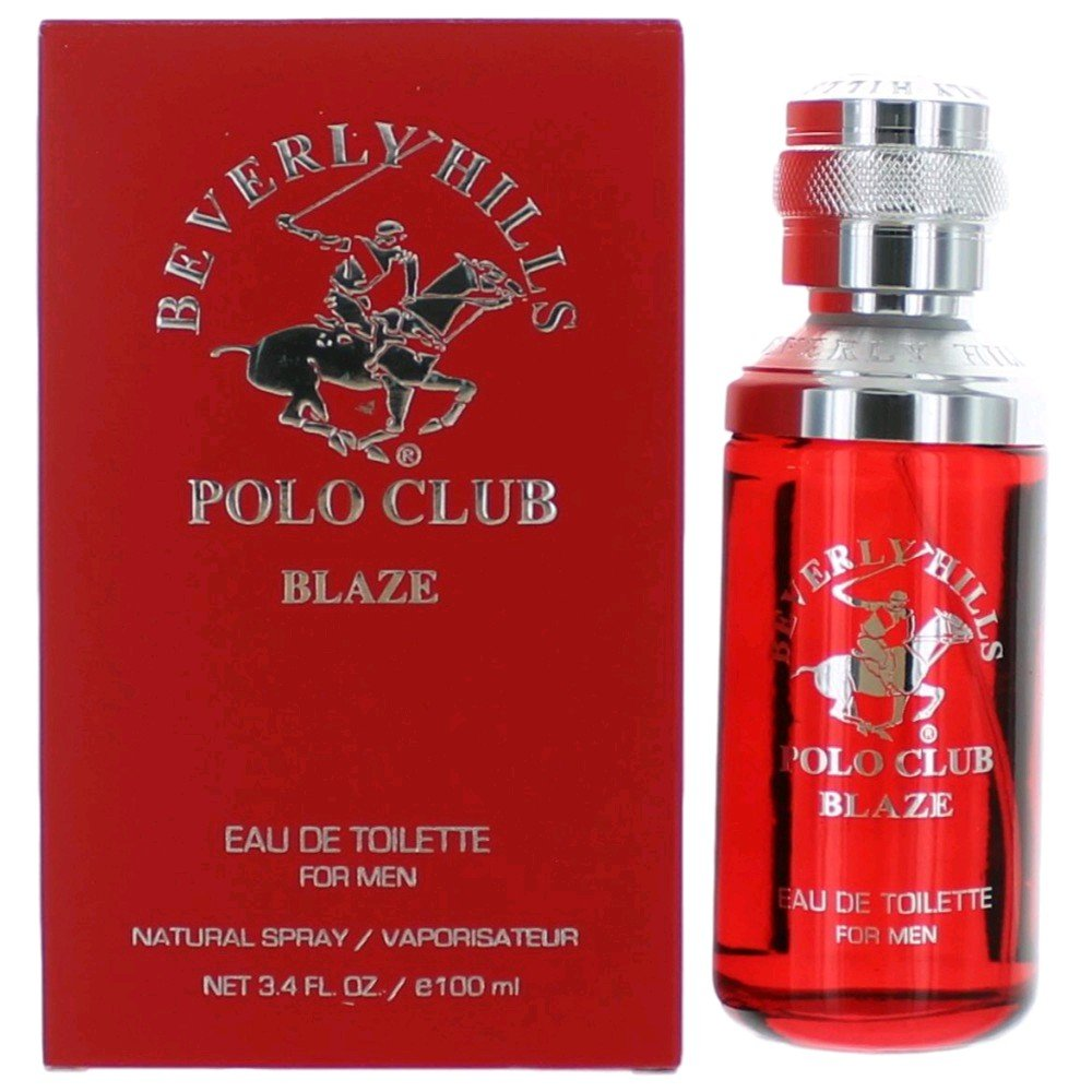 Beverly Hills Polo Club Blaze by Beverly Hills Polo Club, 3.4 oz Eau De Toilette