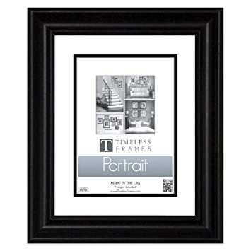 Amazoncom Timeless Frames Lauren Portrait Black Tabletop Frame