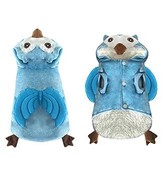 Love Pets Love Petslove - Disfraz de pájaro Azul con Capucha ...
