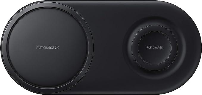 Samsung Wireless Charger Duo Pad Interior Negro Cargador de Dispositivo móvil, Negro: Amazon.com.mx: Electrónicos